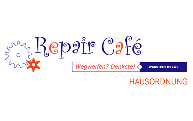 Repair Café Hausordnung